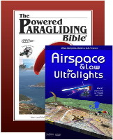 1. Powered Paragliding Bible 2. Airspace & Law For Ultralights