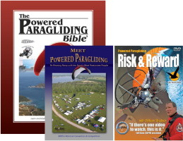 1. Powered Paragliding Bible 2. Meet Powered Paragliding 3. Risk & Reward