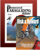 1. Powered Paragliding Bible 2. Risk & Reward