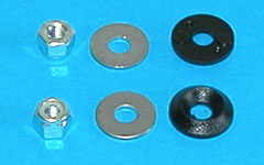 Top 80 Cowling Nut & Washer Kit M4RD