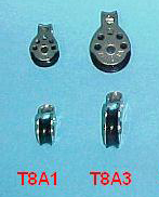 Miniplane Pulley for Speed Bar, Small T8A1