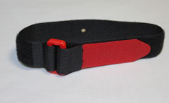 Throttle Strap, Velcro Red & Black T10V