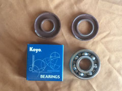 Minari Crank Shaft Bearings and Seals, set N001.26 (20)